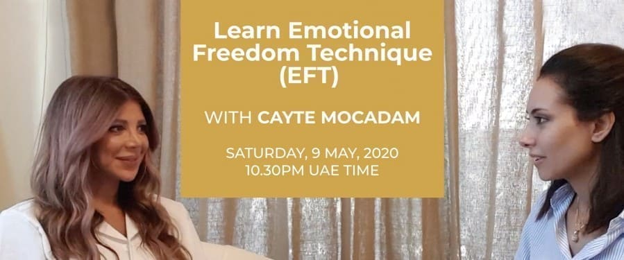 Learn Emotional Freedom Technique (EFT) - Cayte Mocadam events